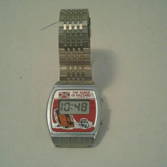 fefb8499a67a Vintage Dukes of Hazzard digital watch. M 5b2531e34ab6334200dac999